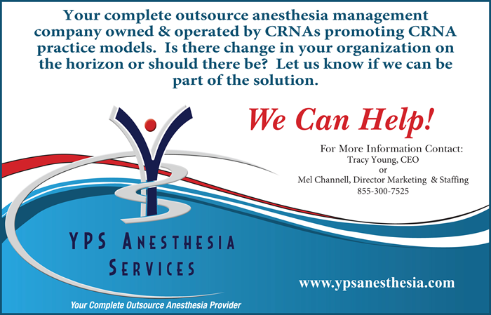 YPS Anesthesia Services Advertisement